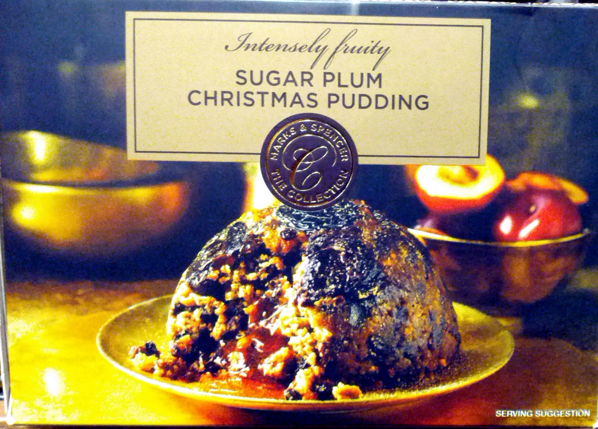 Sugar Plum Christmas Pudding - Product