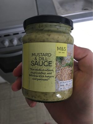 Moutarde and dill sauce - Product
