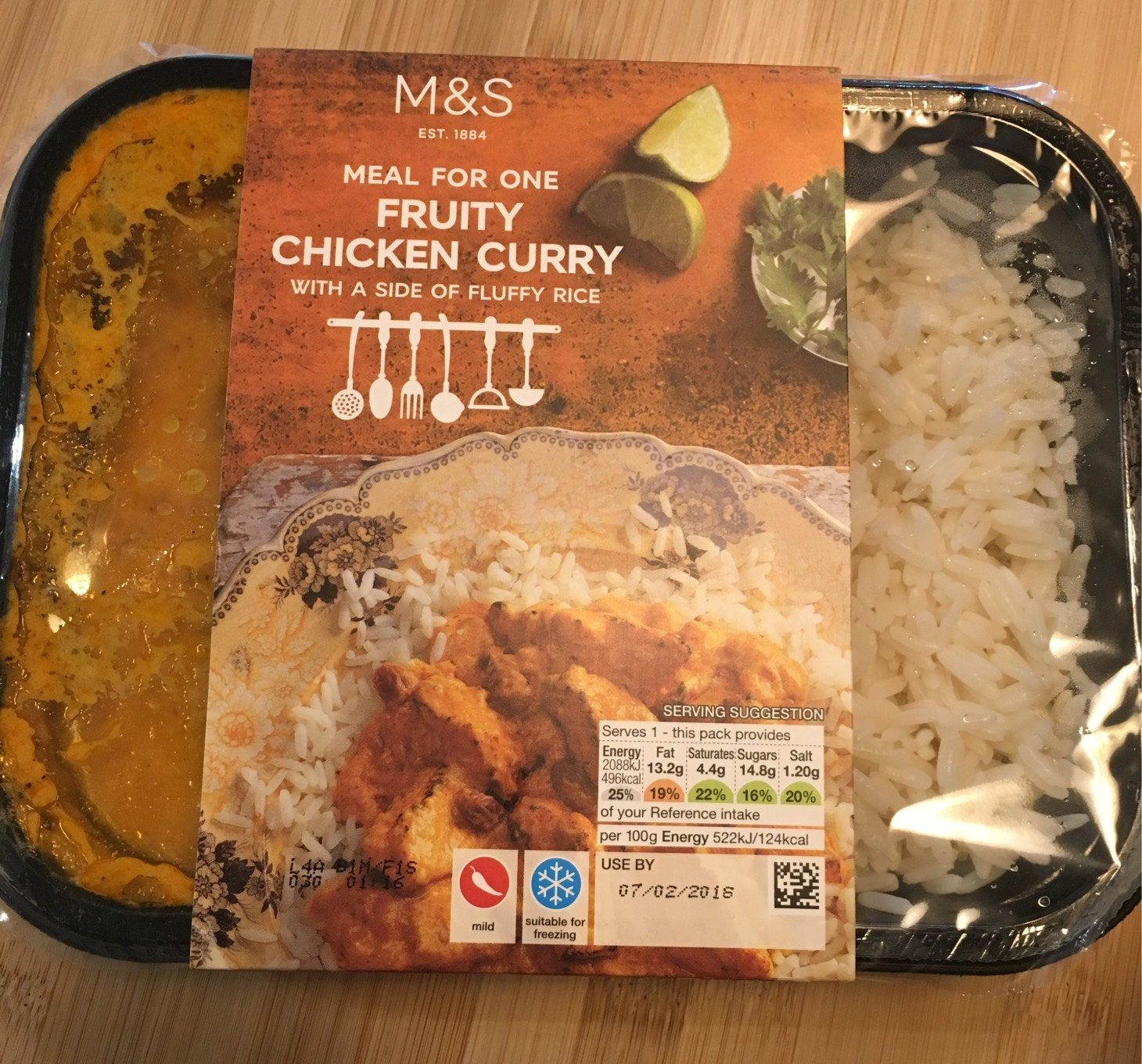 Fruity Chicken Curry - Product - fr