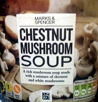 Chestnut Mushroom Soup - Product