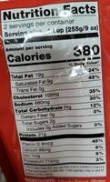Fettuccine Alfredo with Grilled Chicken - Voedingswaarden - en