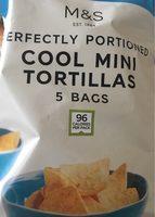 Cool mini tortillas 5 bags - Product