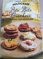 Multigrain pita bite crackers - Product - en