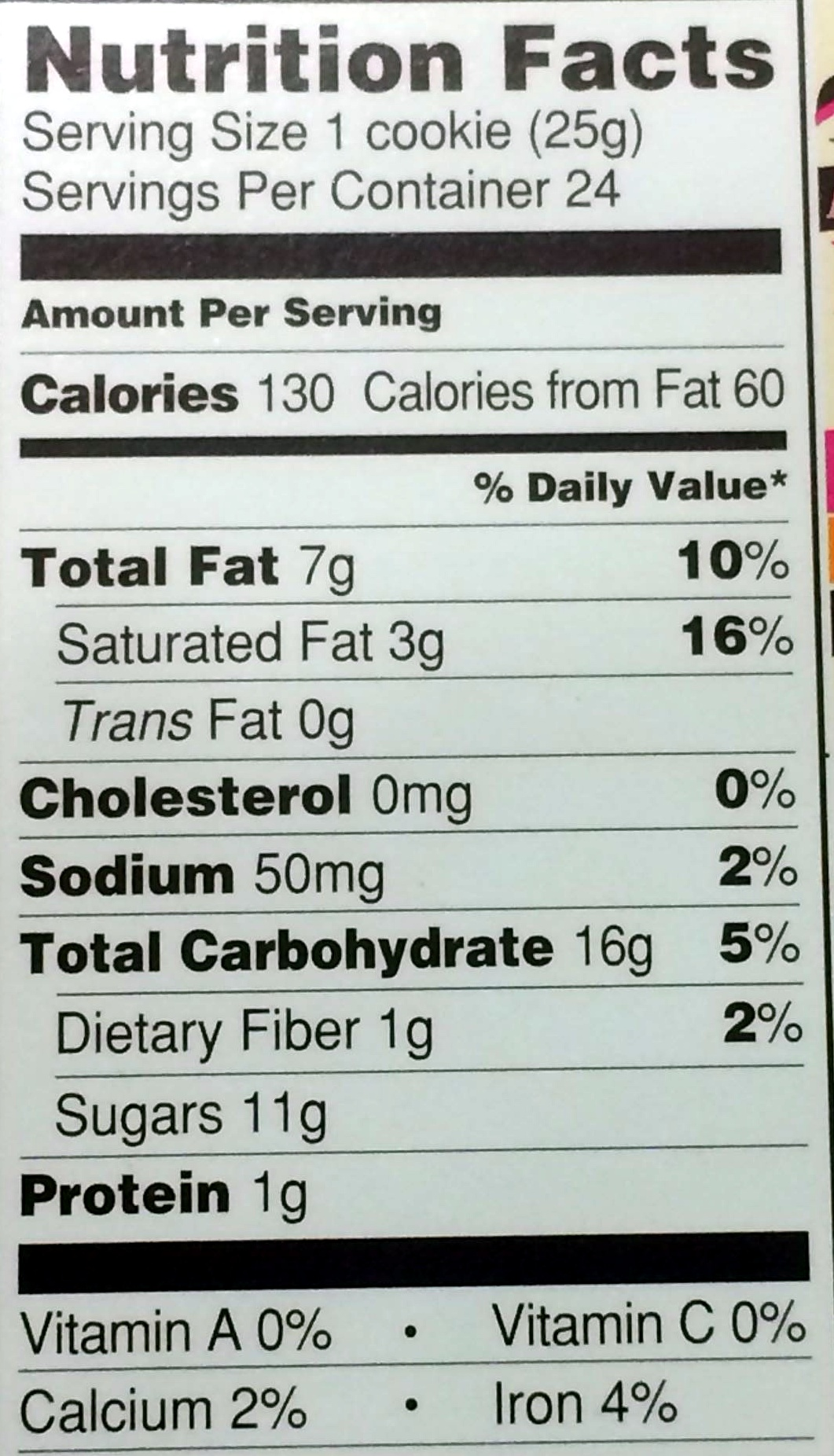 Joe-joe's - Nutrition facts