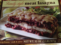 Family Style Meat Lasagna - Product - en