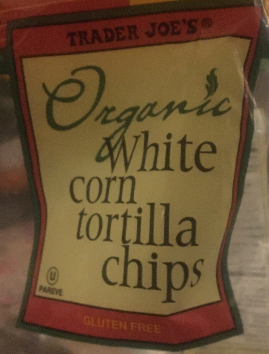 Organic white corn tortilla chips - Product