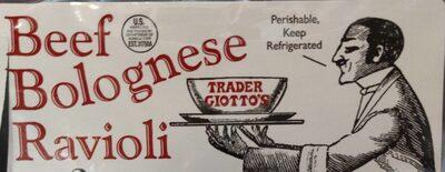 Beef Bolognese Ravioli - Product - en