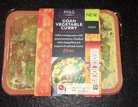 Goan Vegetable curry - Product