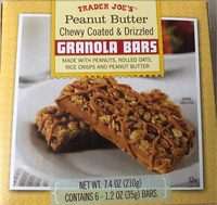 Peanut Butter Chewy Coated & Drizzled - Product