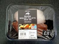 Duck breast fillets skin on - Product - en