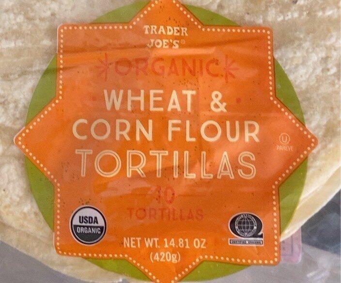 Organic Wheat and Corn Flour Tortillas - Product - en