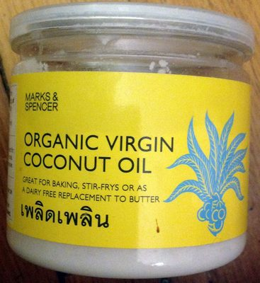 Organic Virgin Coconut Oil - Product