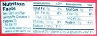 Natural Beef Jerky - Voedingswaarden