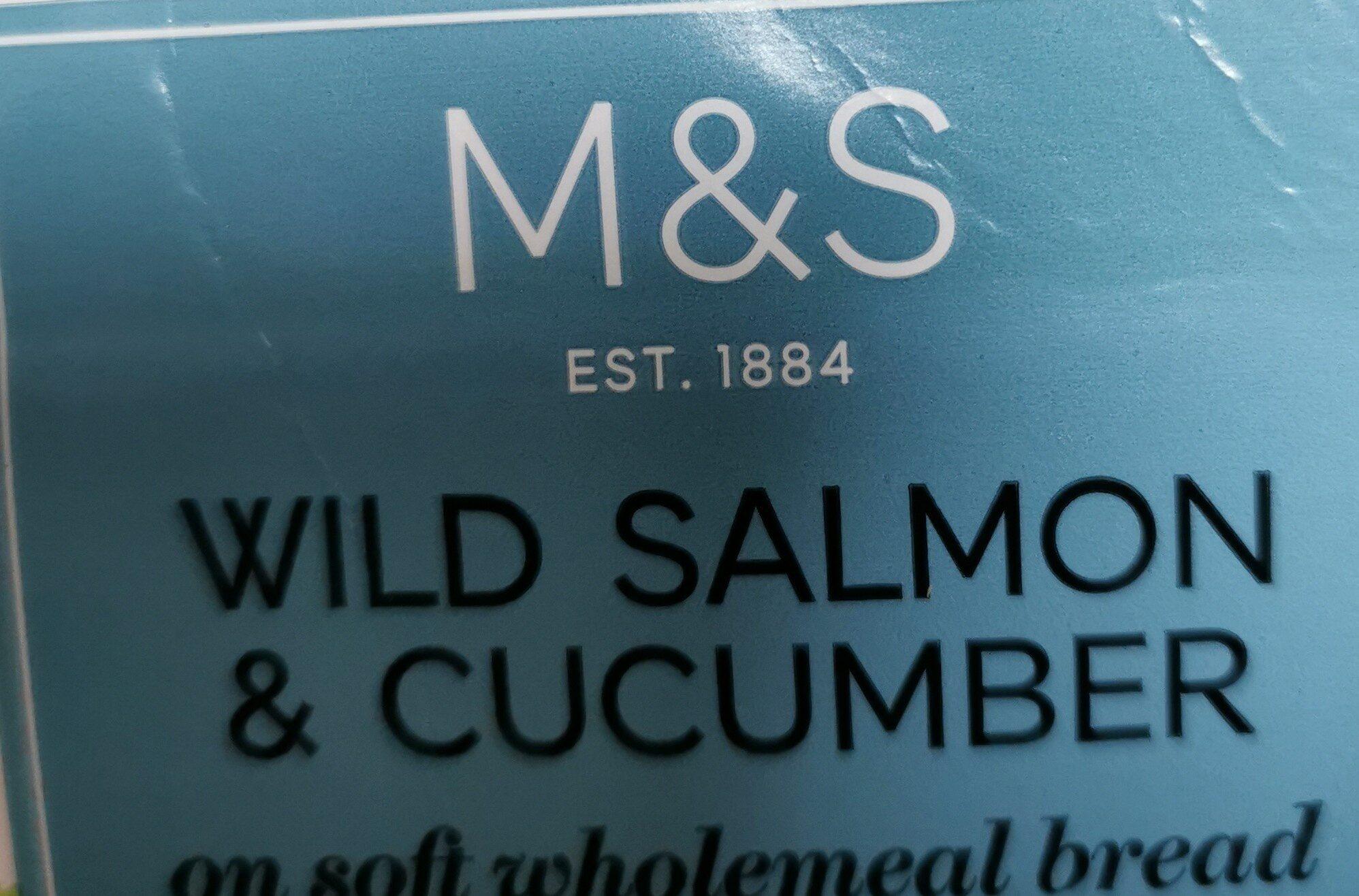 Salmon cucumber sandwiches - Informations nutritionnelles