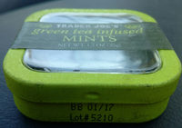 Green tea infused MINTS - Product