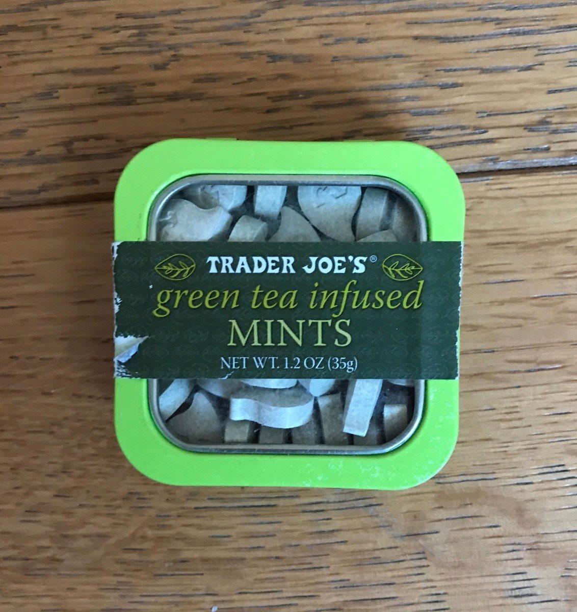 Green tea infused MINTS - Produit