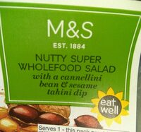 Nutty super wholefood salad - Produto - en