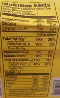 Kale & Edamame - Nutrition facts