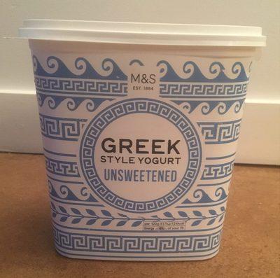 Greek Style Yogurt Unsweetened - Product