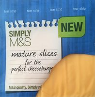 Mature Slices for Cheeseburger - Product