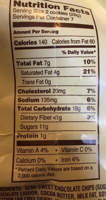 Crispy crunchy - Nutrition facts