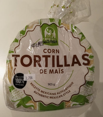 Tortillas de maïs - Produit - fr