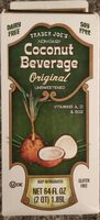Coconut beverage - Product