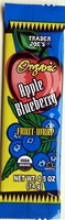 Organic Apple Blueberry Fruit Wrap - Product