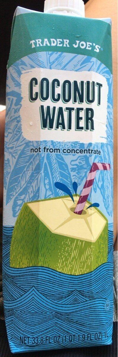 Coconut water - Product - en