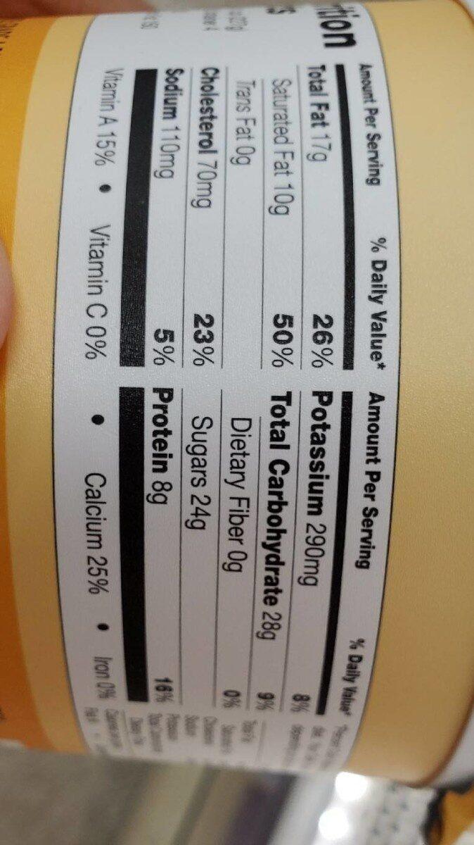 Greek Yogurt with honey - Nutrition facts - en
