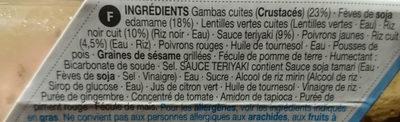 Salade de Riz aux Gambas et au Sésame avec une Sauce Teriyaki - Ingredients