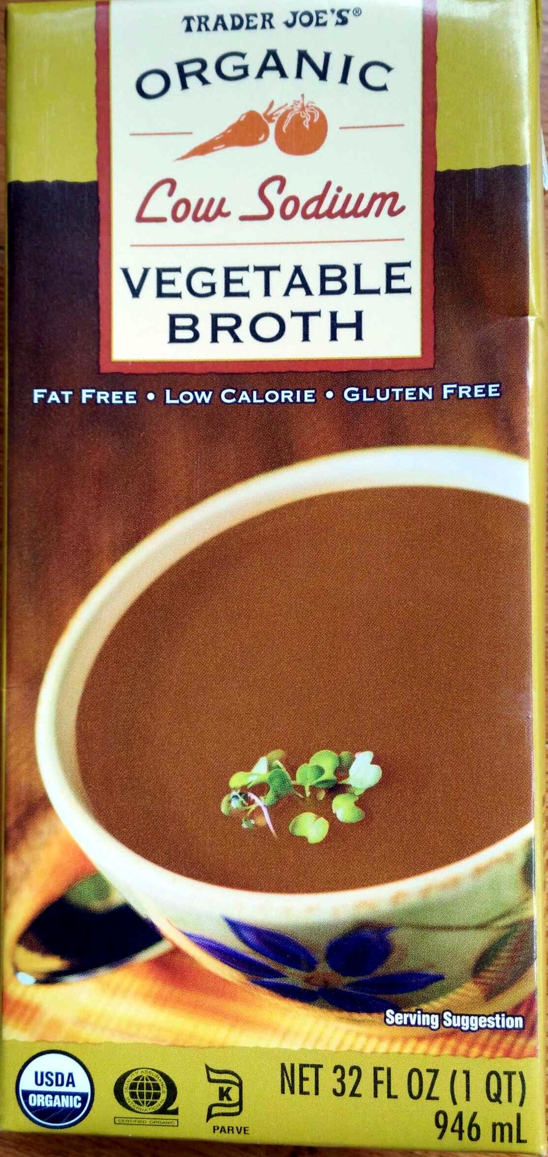 organic low sodium vegetable broth - trader joe u0026 39 s