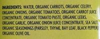 Organic vegetable broth - Ingredients - en