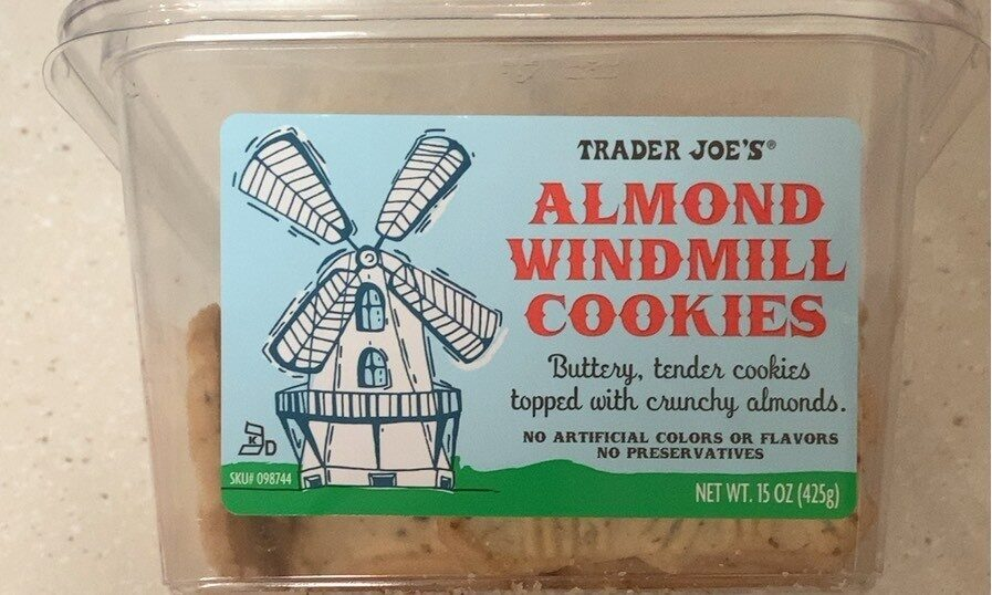 Almond windmill cookies - Produkt - fr
