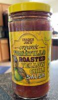 Organic Tamarillo & Roasted Yellow Chili Salsa - Product - en