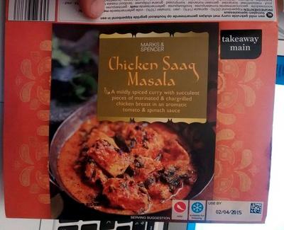 Chicken Saaq Masala - Product
