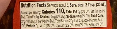 Maple Agave Syrup Blend - Nutrition facts - en