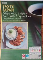 Crispy Katsu Chicken Curry with Fragrant Rice - Produit