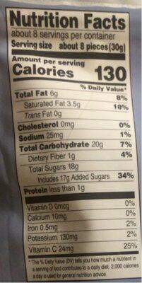 Powerberries - Nutrition facts - en