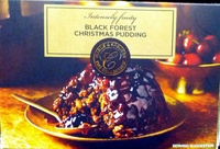 Black Forest Christmas Pudding - Product - en