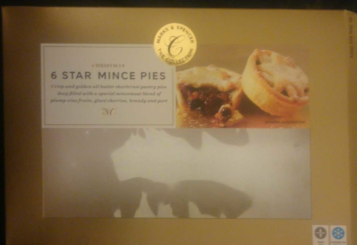 6 Star Mince Pies - Product - fr