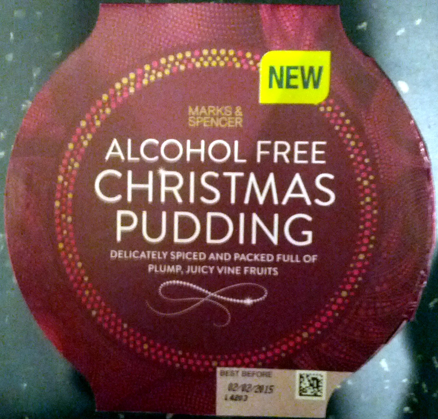 Alcohol Free Christmas Pudding - Product - en