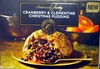 Cranberry & Clementine Christmas Pudding - Product