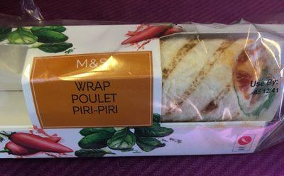 Wrap poulet piri piri - Product