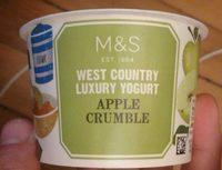 Yaourt Apple Crumble - Product - en