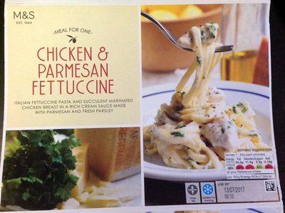 Chicken & Parmesan Fettuccine - Product