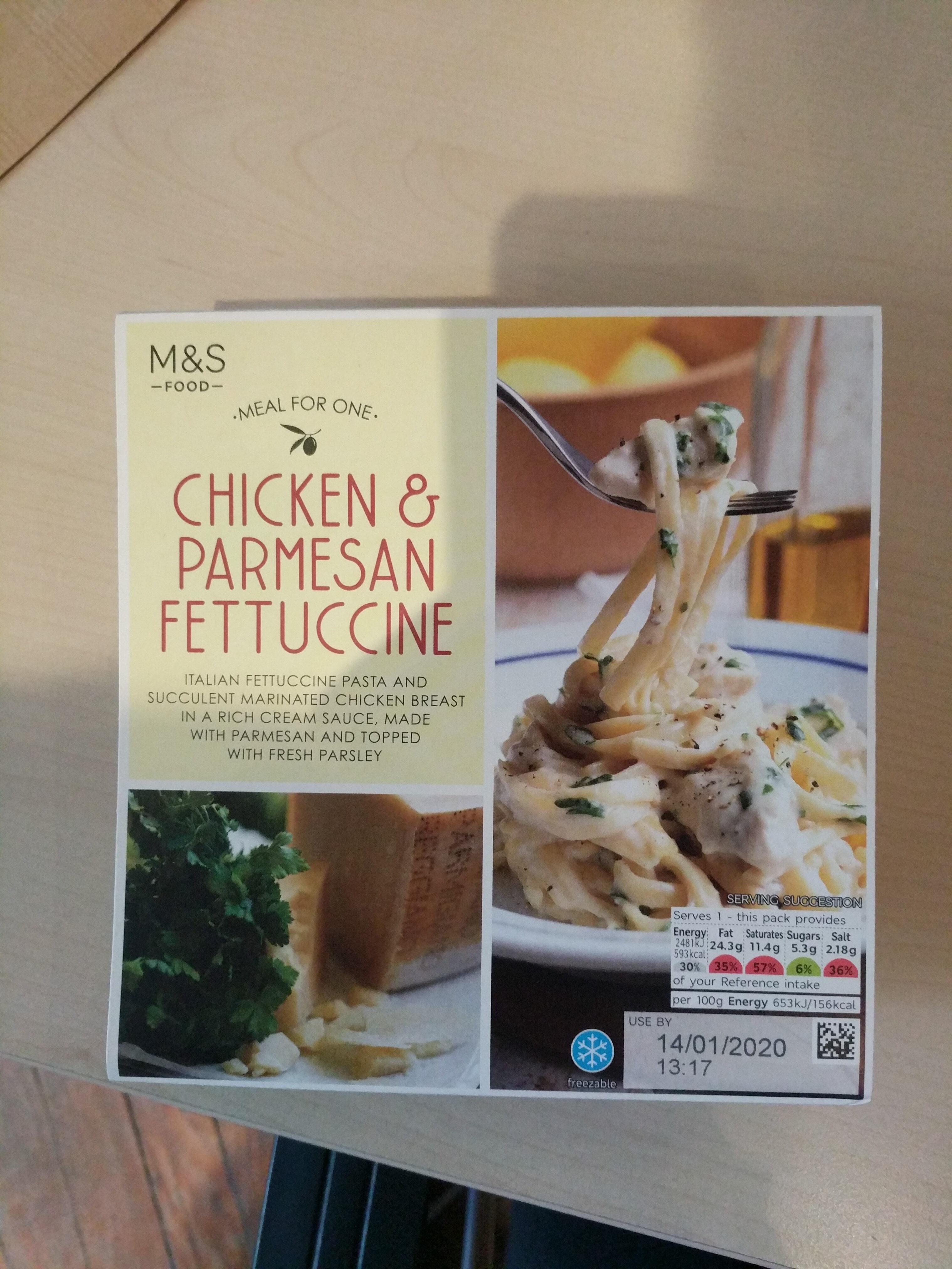 Chicken & Parmesan Fettuccine - Product - en