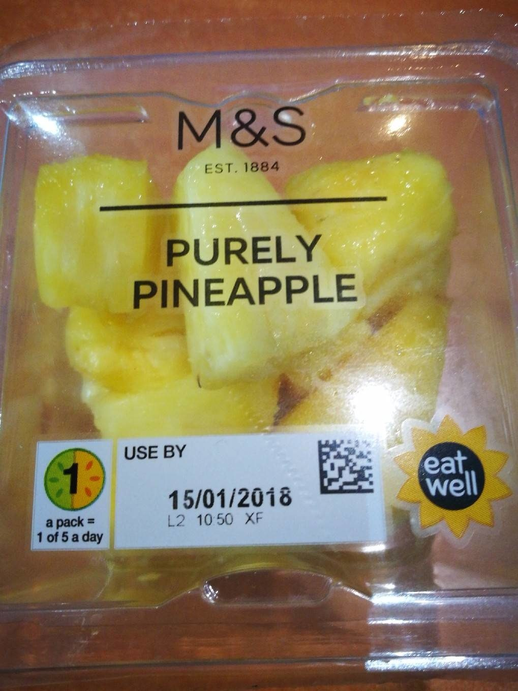 Purely Pineapple - Product