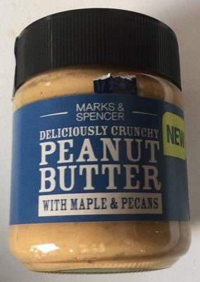 Crunchy Peanut Butter with Maple & Pecans - Product - en