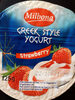 Greek style yogurt strawberry - Produit